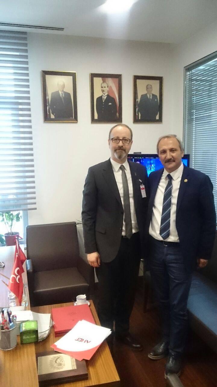 AHEF GENEL SEKRETERİ UZMAN DR. ERKUT COŞKUN'UN MECLİS ZİYARETİ İZLENİMLERİ.