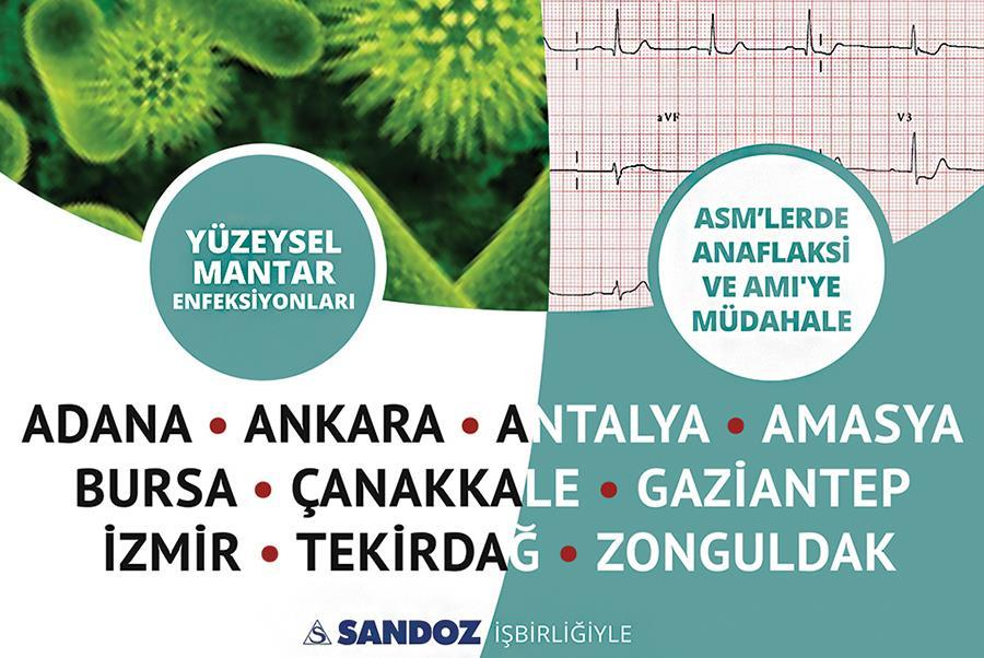 İzmir ve Adana'da Gerçekleşecek Eğitim Toplantılarının Bilimsel Programları Açıklandı