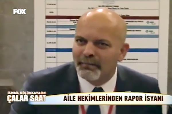 Dr. Gürsel Özer Raporlar ve İzinlere Yönelik Açıklamalarıyla Fox Tv'deydi