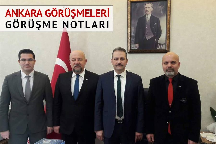 AHEF Ankara Görüşmeleri Notları