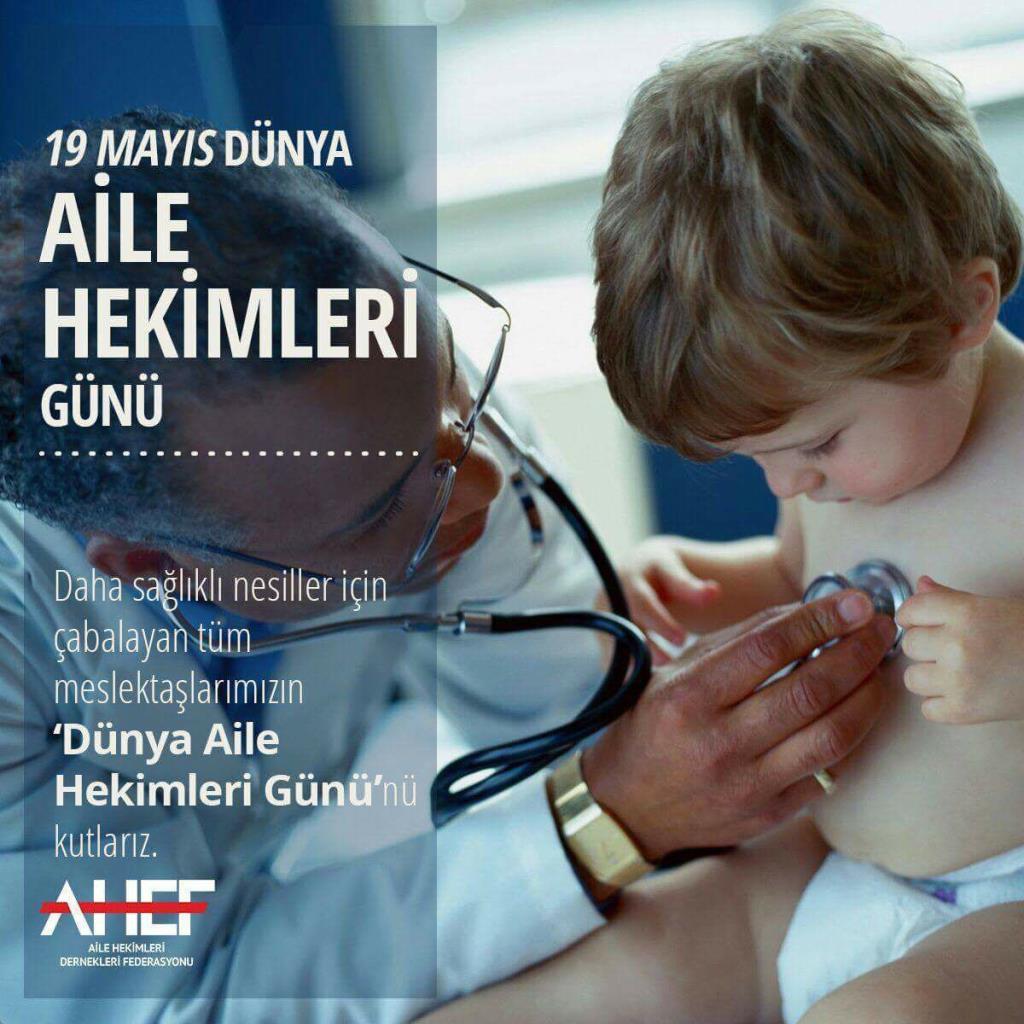 Dünya Aile Hekimleri Günü Kutlu Olsun