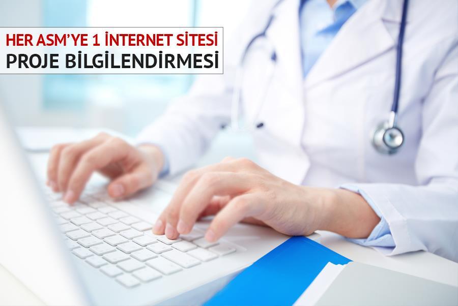 Her ASM'ye 1 İnternet Sitesi Projesi Hakkında Bilgilendirme