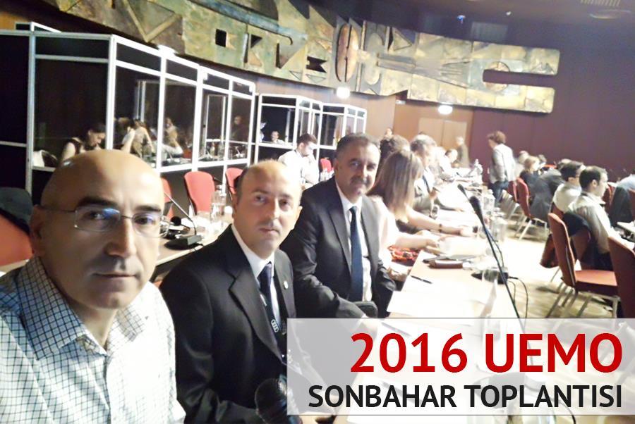 2016 UEMO Sonbahar Toplantısı