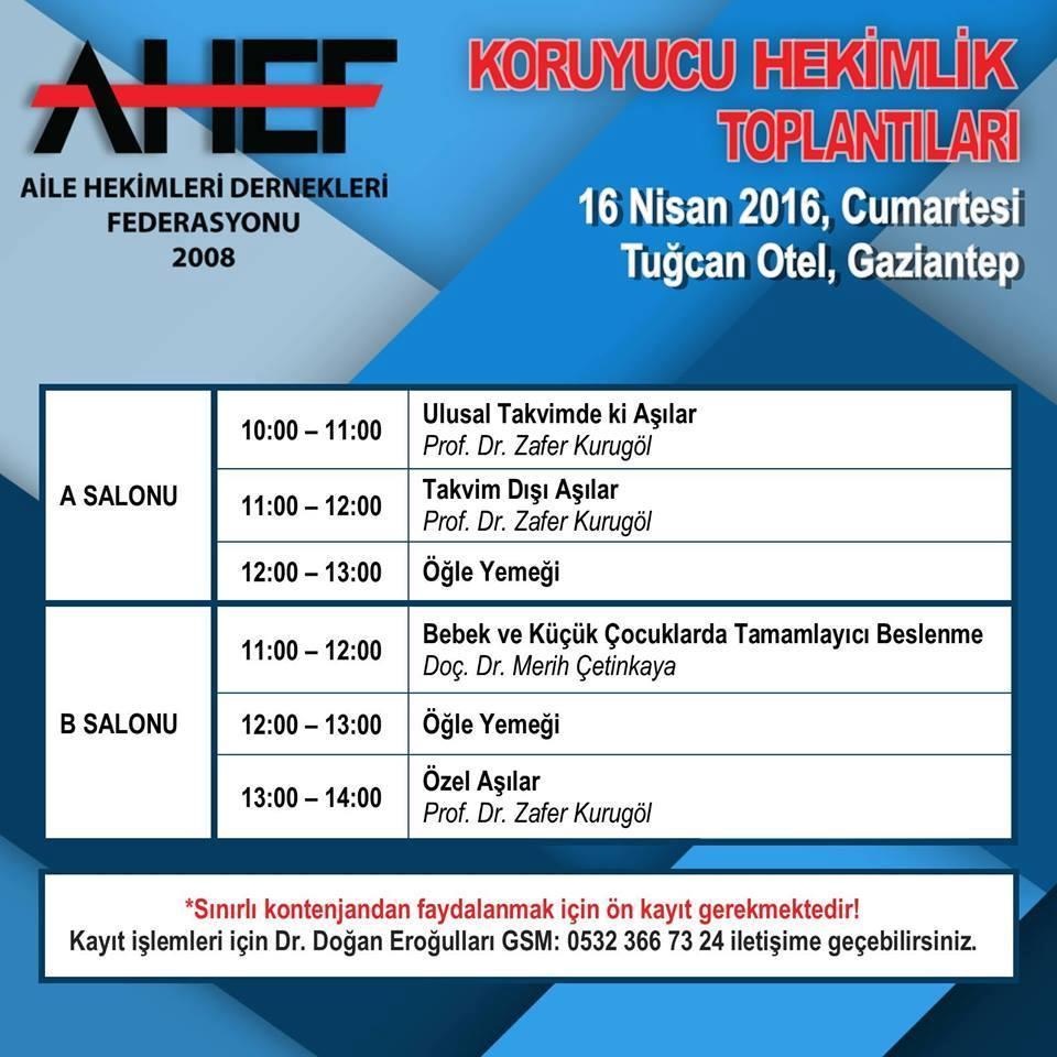 AHEF' İN EĞİTİMLERİ BAŞLIYOR...İLK EĞİTİM TOPLANTISI GAZİANTEP' TE