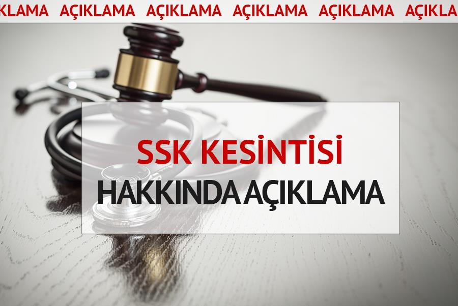 AHEF'ten İzmir'deki SSK Kesintisi Hk. Açıklama