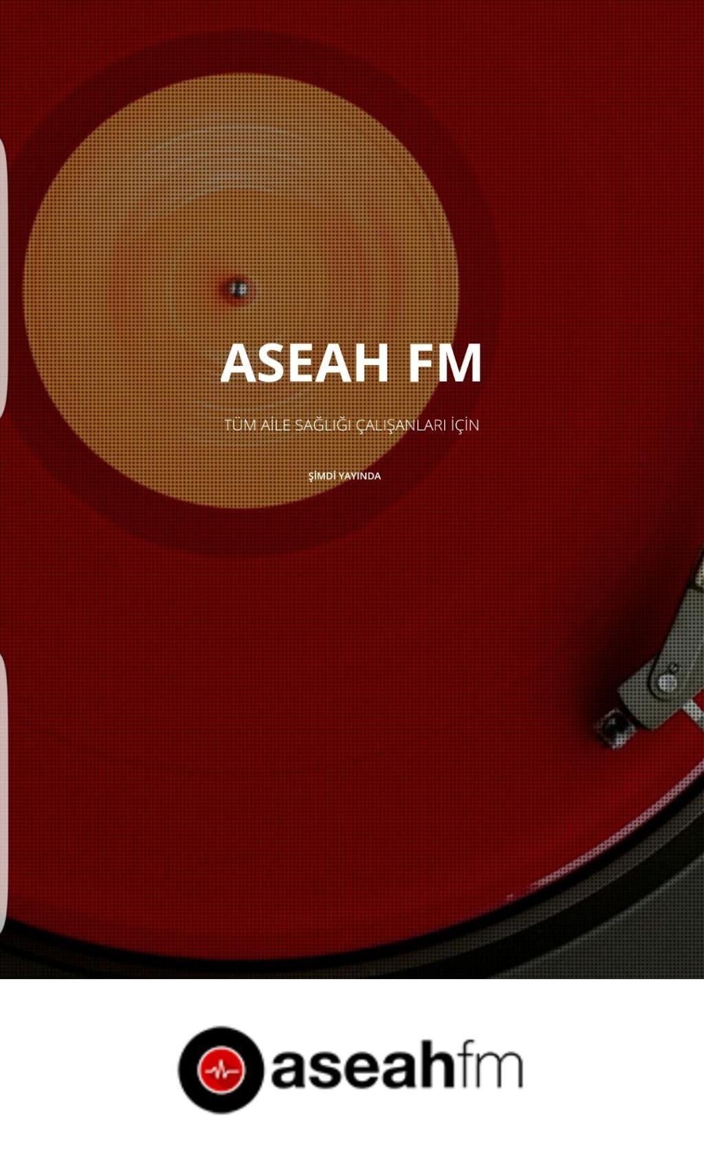 ARTIK RADYO ASEAH FM AHEF ÇATISI ALTINDA...