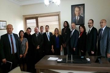 AHEF  Yönetimi  Birlik Dayanışma Sendikasına Ziyaretteydi..
