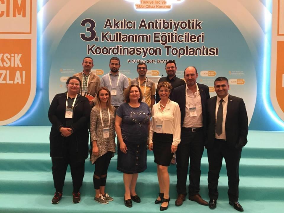 3.Akılcı Antibiyotik Kullanımı Eğiticileri Koordinasyon Toplantısı İstanbul'da gerçekleşti