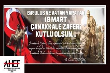 18 Mart Çanakkale Şehitlerimizi Anıyoruz