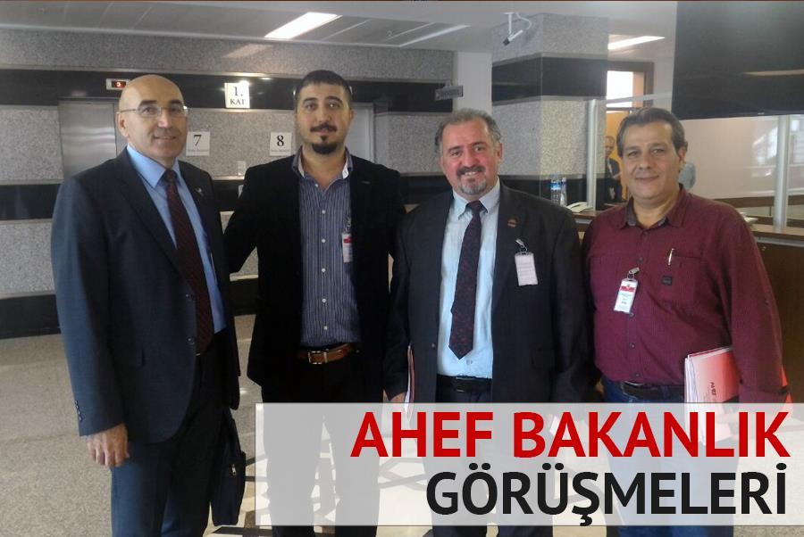 AHEF Bakanlık Görüşmesi